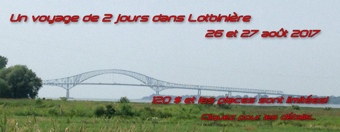 Voyage 2 jours dans Lotbinière